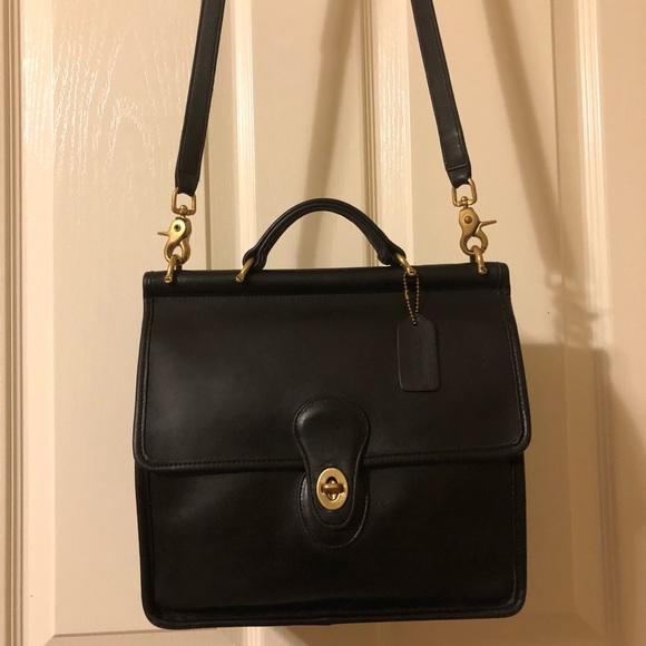 0c9cc12174 Coach Handbags - Vintage Coach Willis Bag 9927